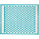 Party Turquoise Indoor-Outdoor 8'x10' Rug