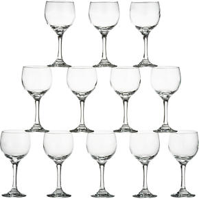 Set of 12 Party Wine Glasses