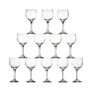 Party Wine Glasses Set of 12