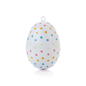 Pastel Polka Dot Design Egg