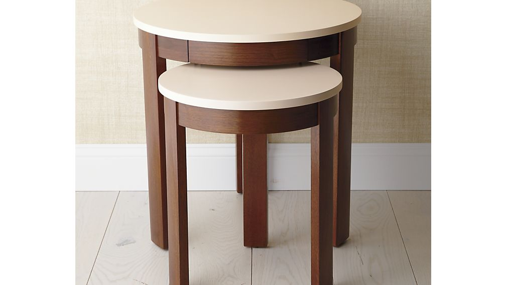 Set of 2 Pastis Nesting Side Tables