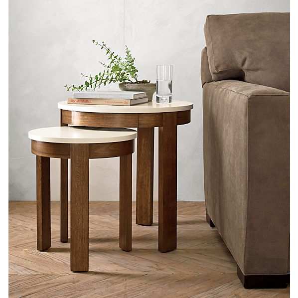 Pastis Nesting Side Tables Set of Two