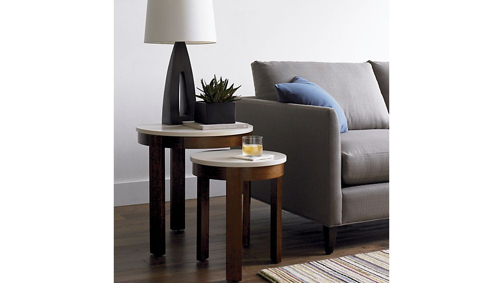 Pastis Large Side Table With Drawer In Coffee Tables