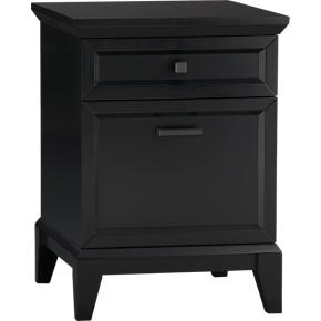 Paterson Black Filing Cabinet