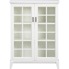 Paterson White 36.5 Two-Door Cabinet
