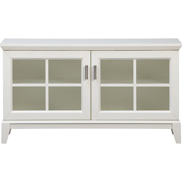 "Paterson White 48"" Media Console"