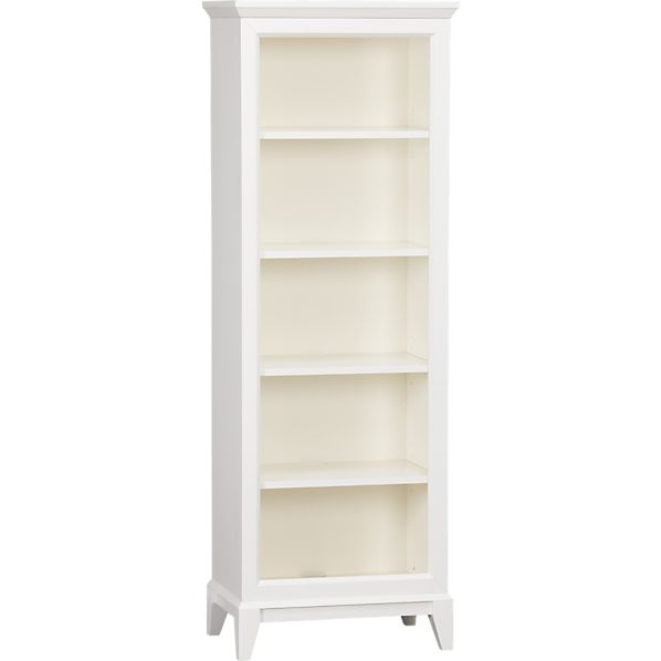 Paterson White Bookcase
