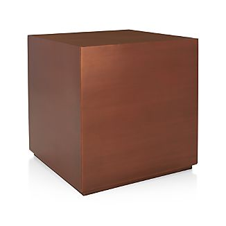Patina Copper Cube