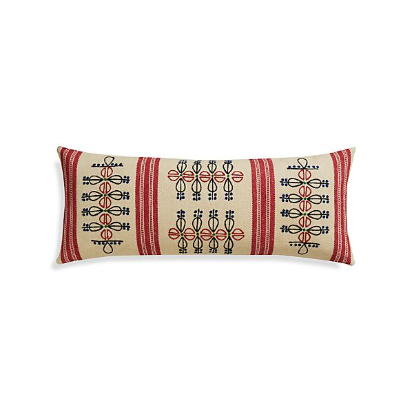 "Patou 36""x14"" Pillow"