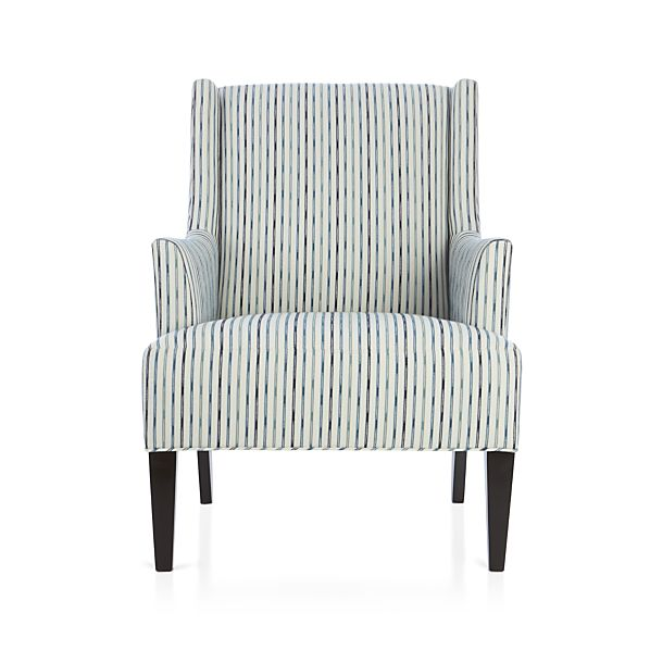 Patrice Chair Azure Crate And Barrel