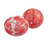 Set of 2 Patriotic Paper Lanterns