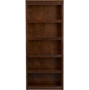 Payton Tobacco 32x76 Bookcase