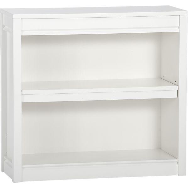 Payton White 32x30 Bookcase
