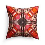 "Paz 18"" Pillow with Feather-Down Insert"