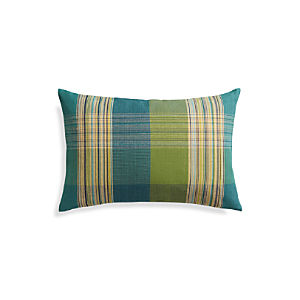 "Peabody Blue 24""x16"" Pillow"