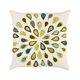 Peacock 16&quot; Pillow
