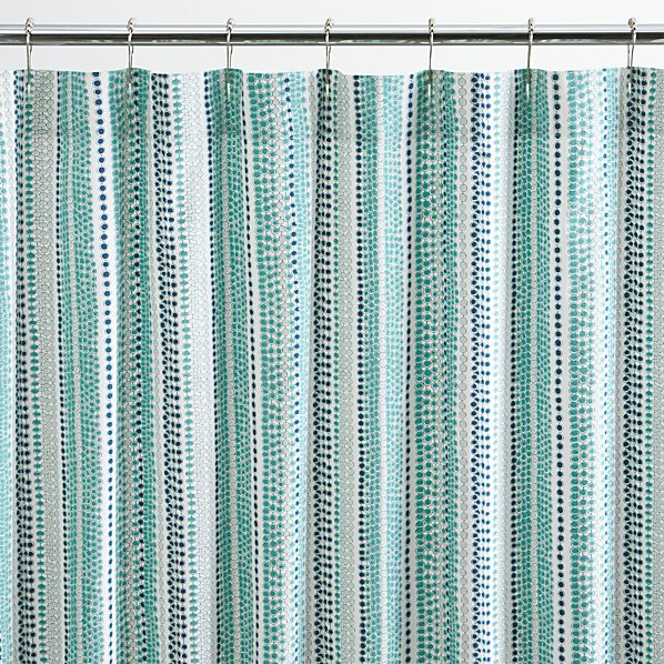 Country Style Shower Curtain Crate and Barrel Online