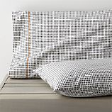 Set of 2 Pebble King Pillowcases