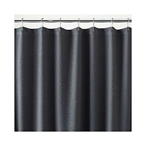 Pebble Matelasse Grey Shower Curtain