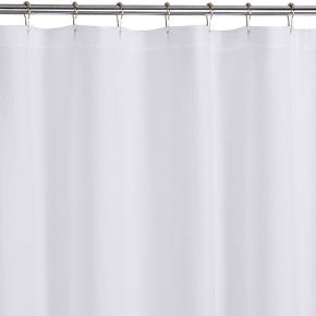 Pebble Matelasse Shower Curtain