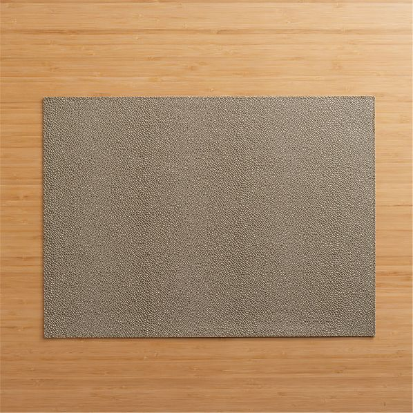 Pebble Brown Placemat
