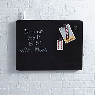 "three by three® Peggy 24""x18"" Chalkboard"