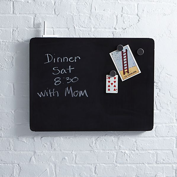 "three by three ® Peggy 24""x18"" Chalkboard"