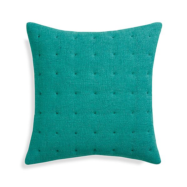 "Pelham Blue 20"" Pillow with Down-Alternative Insert"