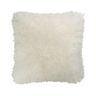 "Pelliccia 18"" Pillow with Feather-Down Insert"