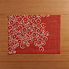 Perla Orange Placemat.