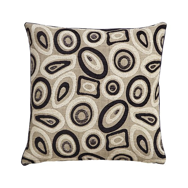"Perla 20"" Pillow with Feather-Down Insert"
