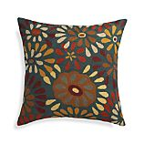 "Pershall 20"" Pillow with Feather-Down Insert"