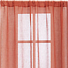 "Persimmon Sheer 52""x96"" Curtain Panel."