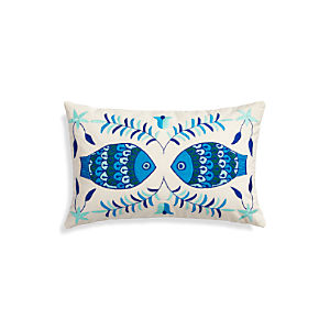 "Pesce 20""x13"" Pillow"