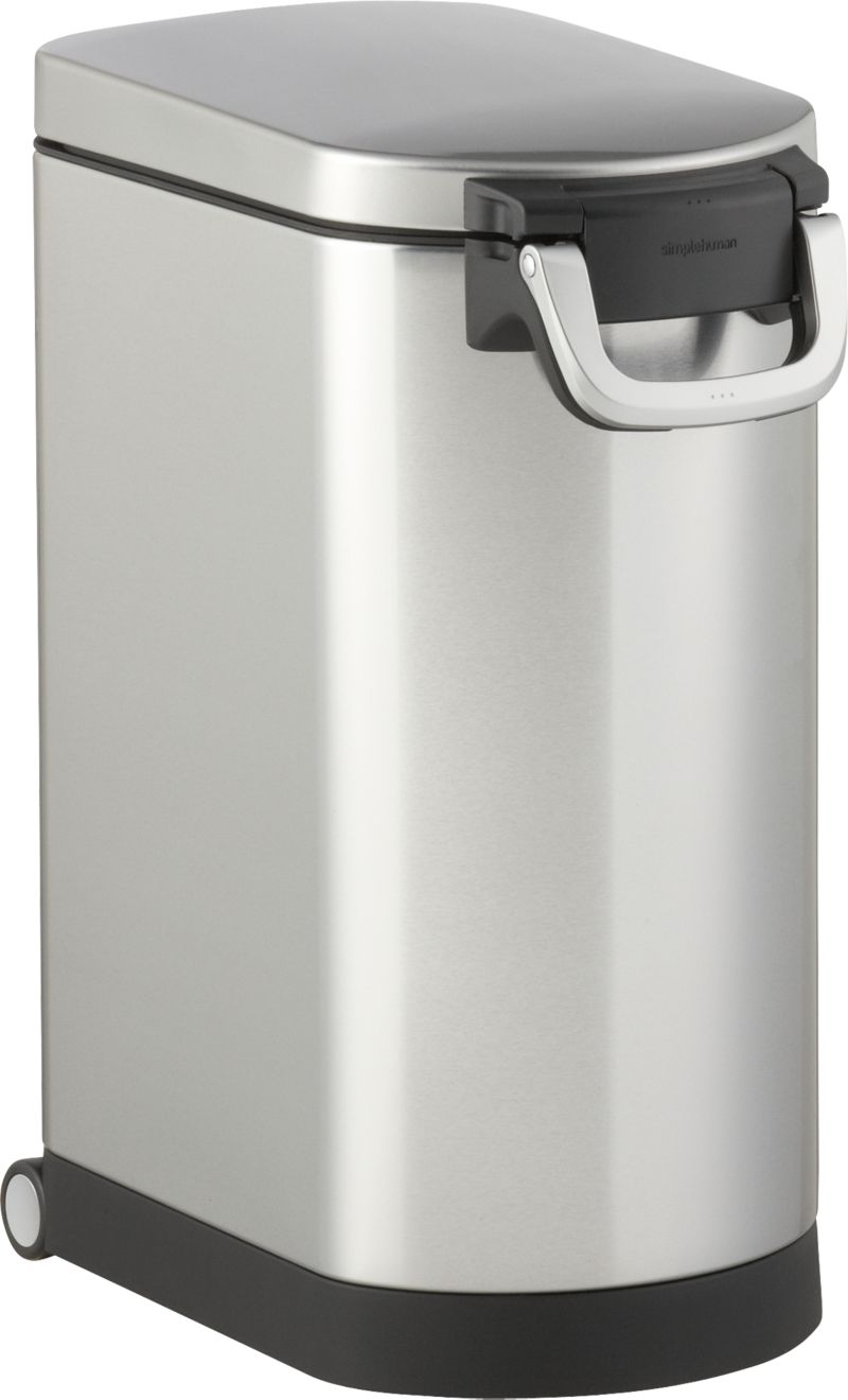 Simplehuman 174 Pet Food Container Crate And Barrel