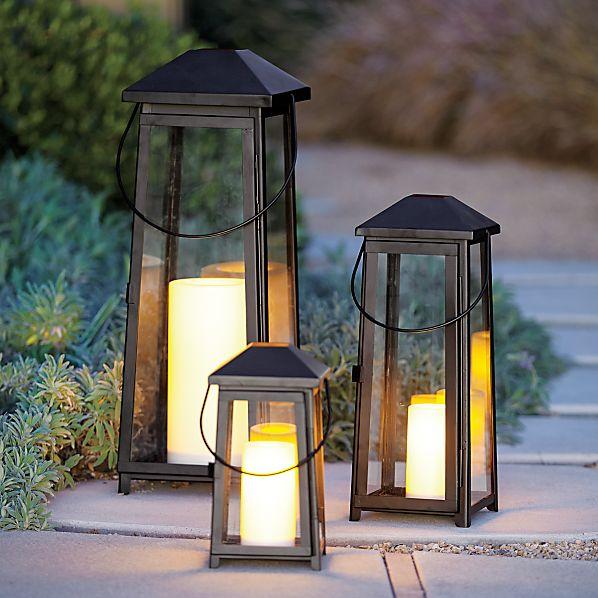 Petaluma Black Metal Lanterns