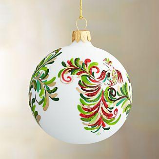 Petra Bird Ball Ornament