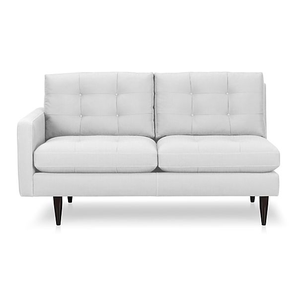 Petrie Left Arm Sectional Loveseat