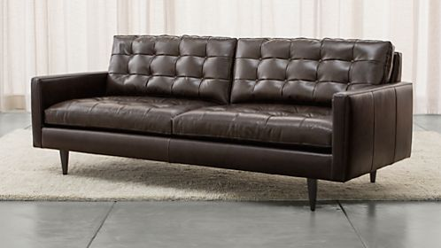 Petrie Leather Sofa