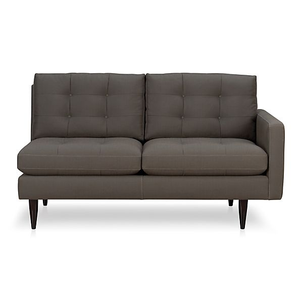 Petrie Right Arm Sectional Loveseat In