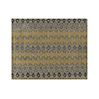 Phila Ikat Wool Rug.