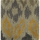Phila Ikat Wool Rug Swatch.