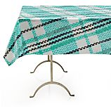 "Pic-Nic Plaid Outdoor 58""x90"" Tablecloth"