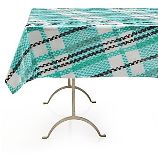"Pic-nic Plaid Outdoor 58""x58"" Tablecloth"