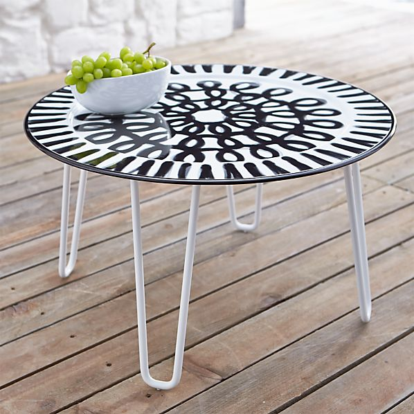 Pic-nic Short Side Table