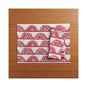 Picado Placemat and Picado Napkin