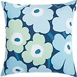 Marimekko Unikko Pieni Turquoise 20&quot; Pillow