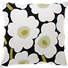 Marimekko Pieni Unikko White Pillow. 20&amp;quot; sq.