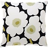 Marimekko Pieni Unikko White 20&quot; Pillow