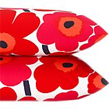 Marimekko Pieni Unikko Red Standard Pillowcases